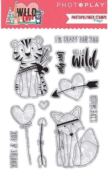 PhotoPlay Wild Love Stamp