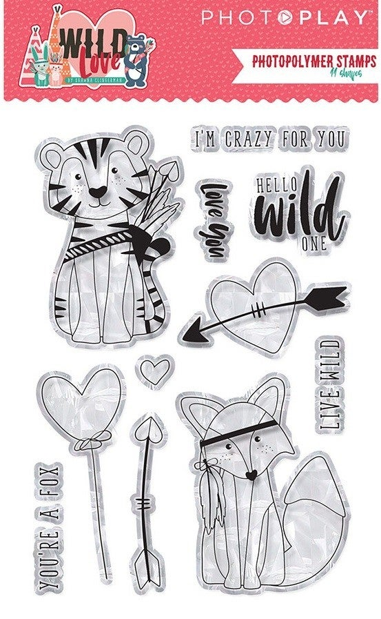 PhotoPlay Wild Love Stamp