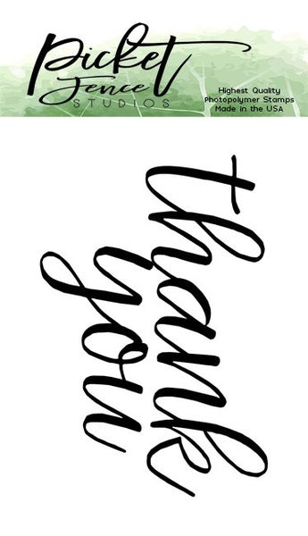 Picket Fence Studios Thank You stamp