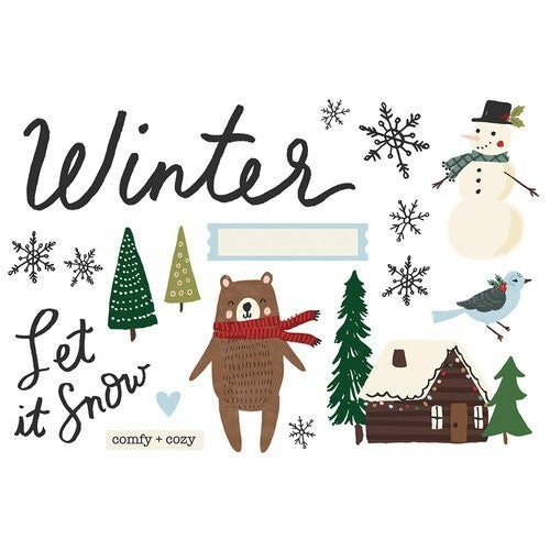Simple Stories -  Page Pieces - Winter