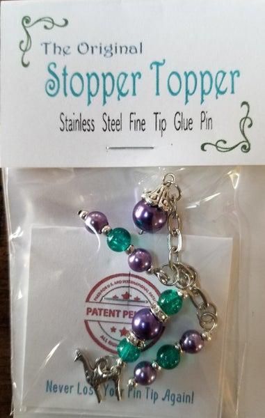 Original Stopper Topper LLAMA for Art Glitter Glue