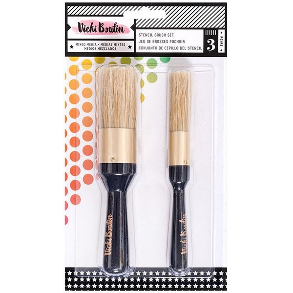 Vicki Boutin Stencil Brush Set