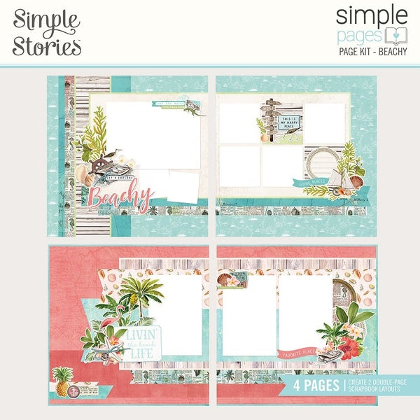 Simple Stories Simple Pages Beachy Page Kit