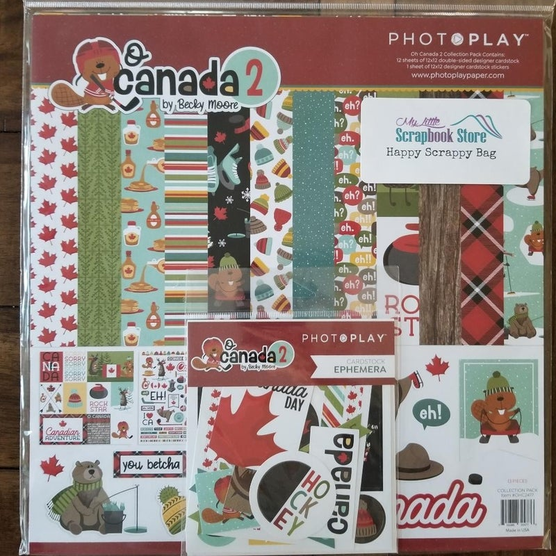 PhotoPlay O Canada 2 Happy Scrappy Bag