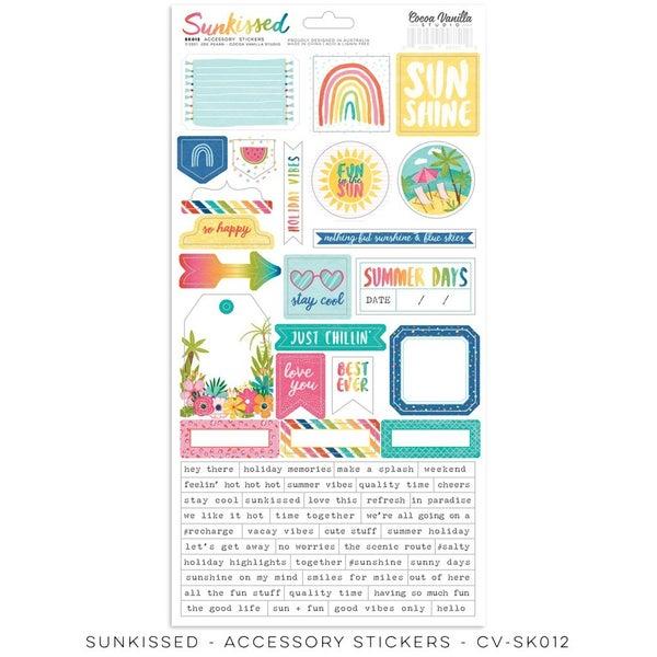 Cocoa Vanilla Studio SUNKISSED  Accessory Stickers