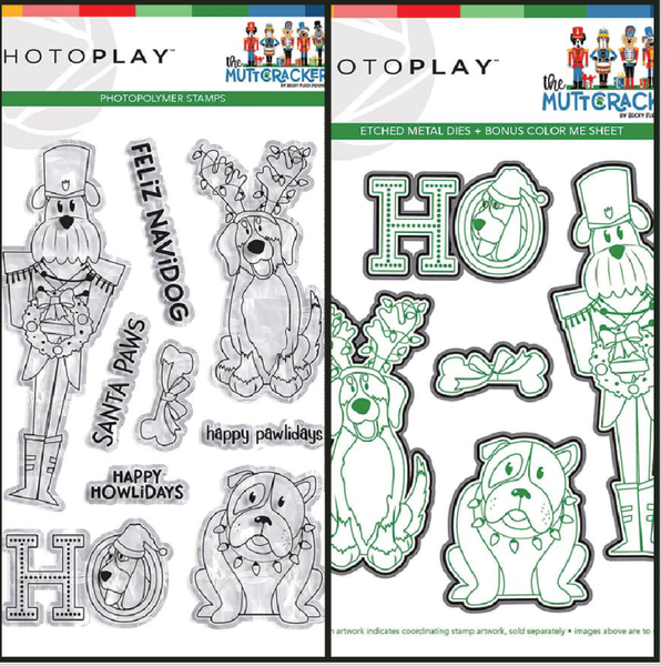 PhotoPlay The Muttcracker Stamp and Die Set