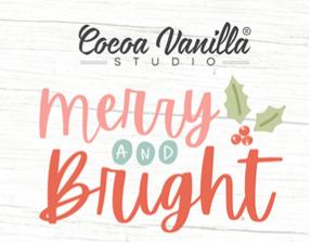 Cocoa Vanilla Studio 22 pc Merry & Bright Happy Scrappy Bag