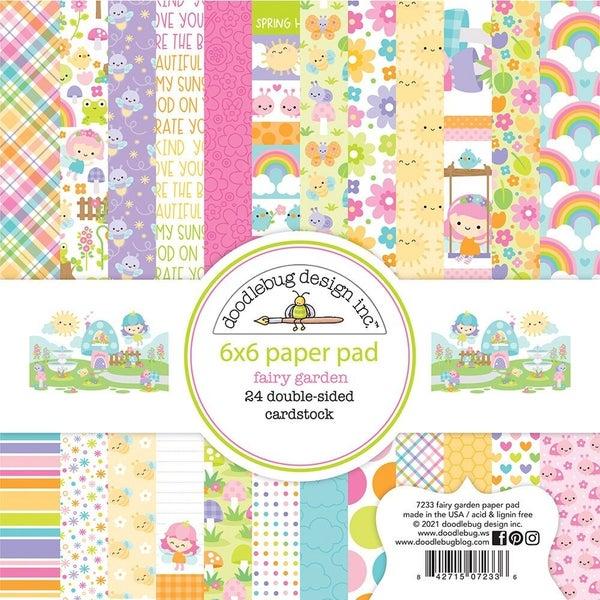 Doodlebug Design  Fairy Garden  6 x 6 Paper Pad