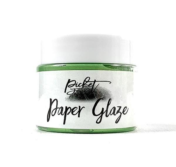 Picket Fence Studios Paper Glaze - Lime Zinnia