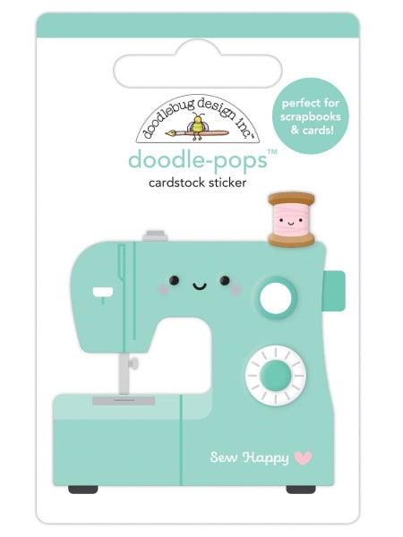 Doodlebug Design  Cute & Crafty  Doodle-Pops  Sew Happy