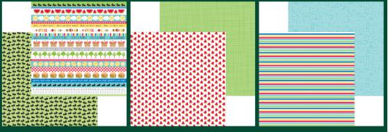 Doodlebug Design 6 pc Paper Set