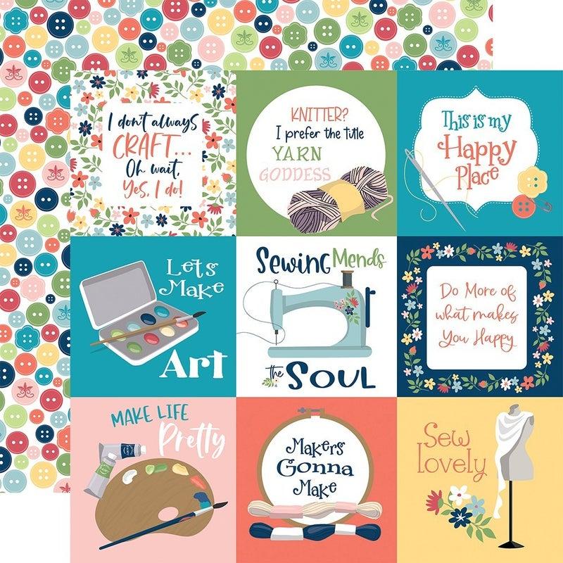 Carta Bella Craft & Create 4 pc set