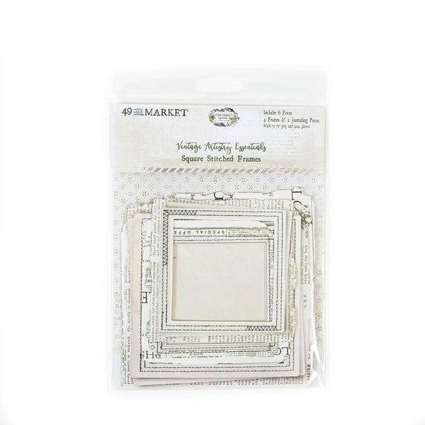 49 and Market  Vintage Artistry Essentials Square Stitched Frames