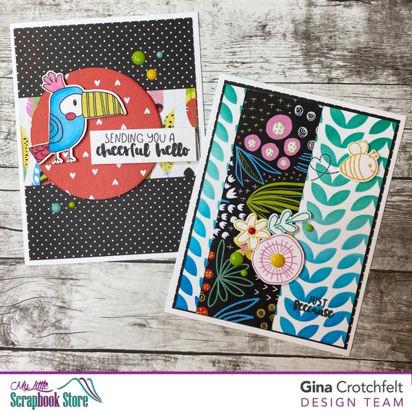 Birds of a Feather Card Class with Gina C. May 23 @ 11am – Live via private Facebook group