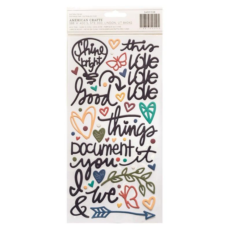 Vicki Boutin Storyteller  17 pc mini Happy Scrappy Bag