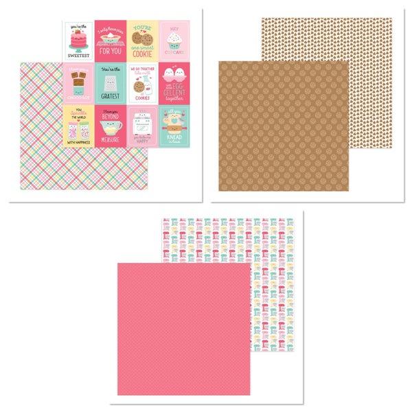 Doodlebug Design Made With Love 6 pc Paper Set