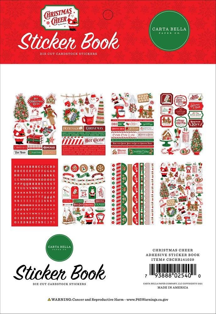 Carta Bella Christmas Cheer Sticker Book