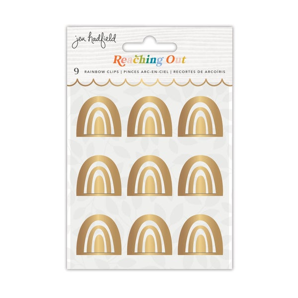 Jen Hadfield - Reaching Out Collection - Rainbow Clips
