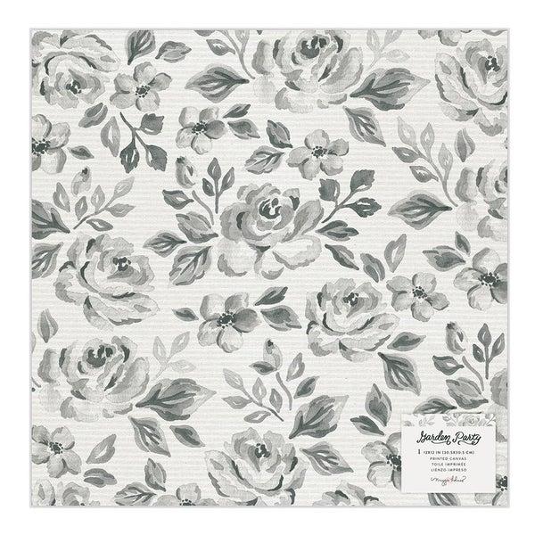 Maggie Holmes Garden Party  12 x 12 Specialty Paper  Rose Bush Vellum