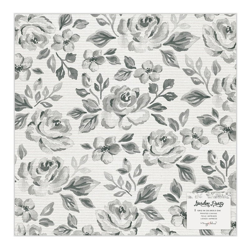 Maggie Holmes Garden Party  12 x 12 Specialty Paper  Rose Bush Vellum