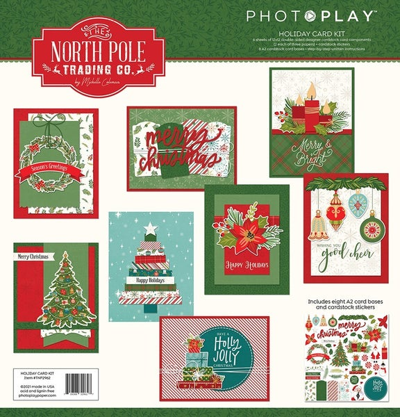 Photo Play The North Pole Trading Co. Christmas - Holiday Card Kit