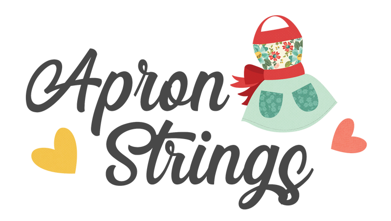 Simple Stories Apron Strings 7 pc Happy Scrappy Bag