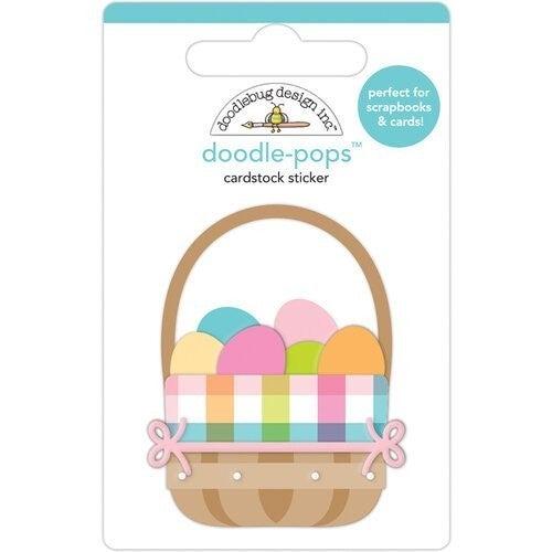 Doodlebug Design  Hippity Hoppity Doodle-Pops  Easter Basket