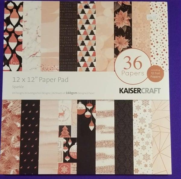 Kaisercraft Sparkle 12 x 12 Pad