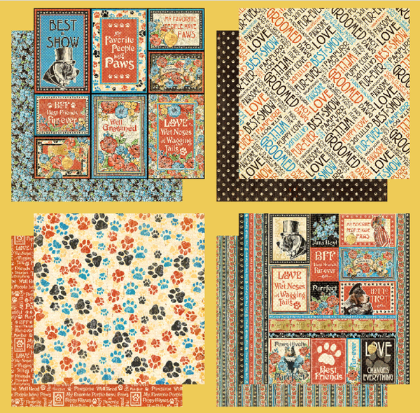 Graphic 45 Well Groomed 8 pc Set