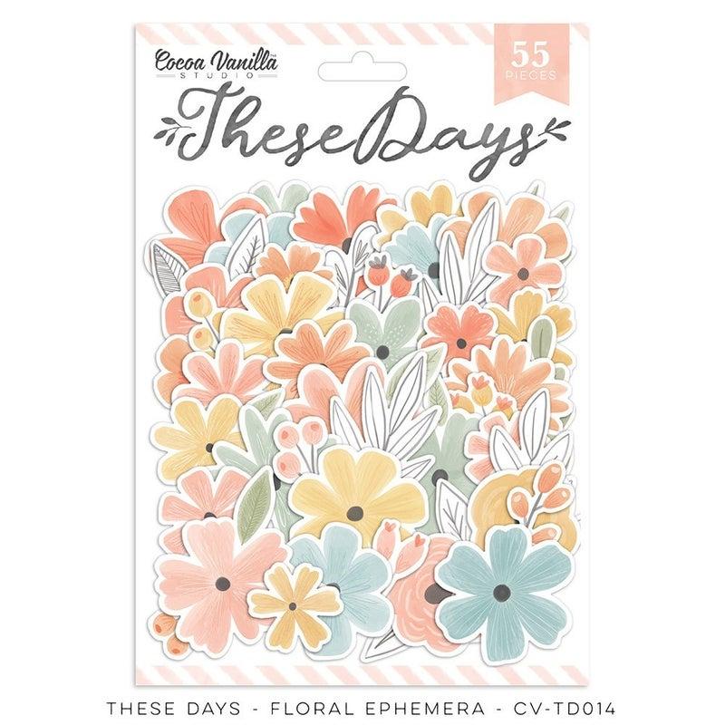 PRE ORDER Cocoa Vanilla Studio These Days Floral Ephemera