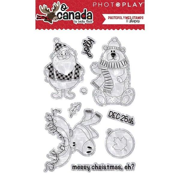 PhotoPlay O Canada Christmas Stamp
