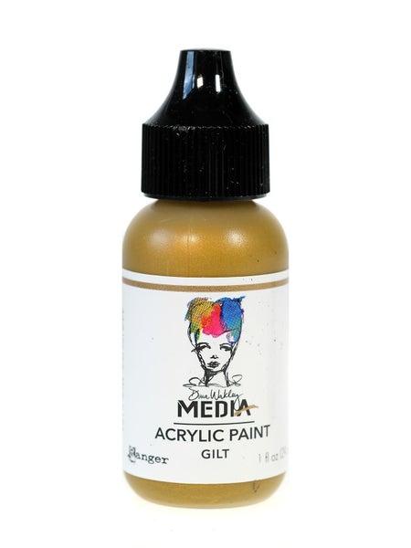 Ranger Dina Wakley Media Acrylic Paint GILT