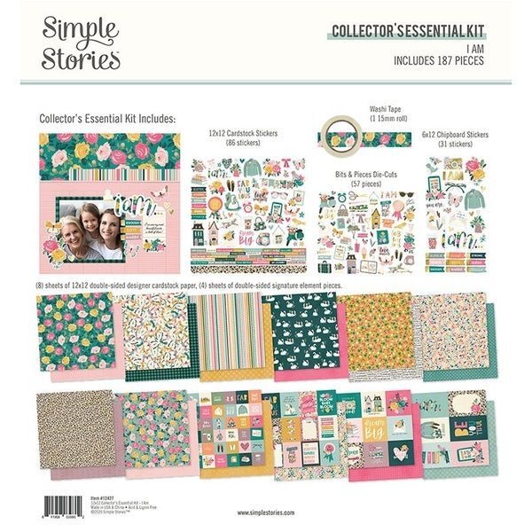 Simple Stories I am Collector's Essential Kit