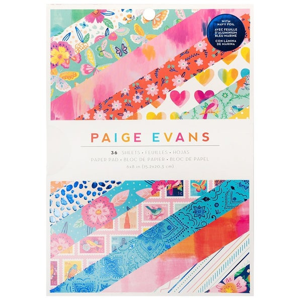 Paige Evans Go the Scenic Route 6 x 8 pad