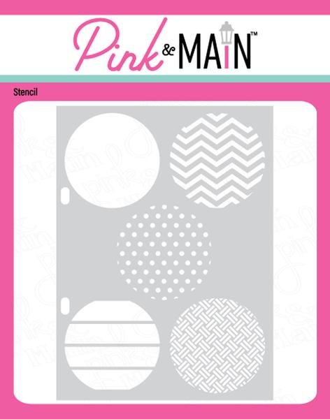 Pink & Main Spotlights 1 Stencil