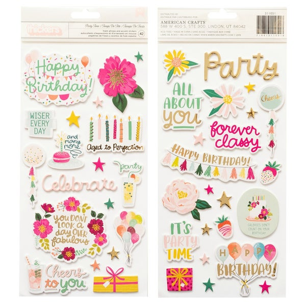 Pink Paislee And Many More Party Time Thickers