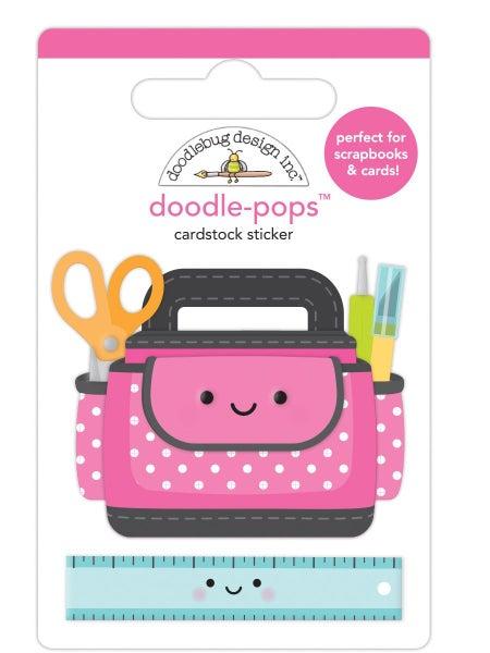 Doodlebug Design Cute & Crafty - Doodle-Pops - Craft Caddy