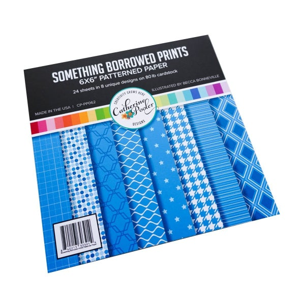 Catherine Pooler Something Borrowed Patterned Paper 6 x 6