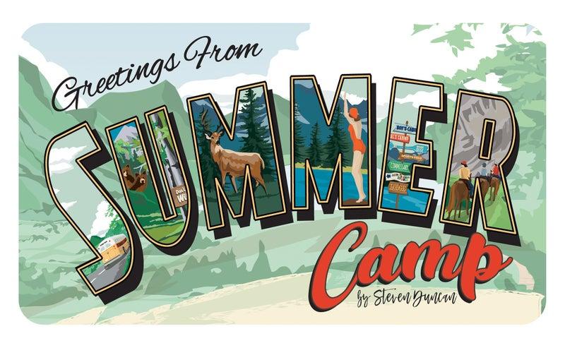 Carta Bella Summer Camp 3 pc Happy Scrappy Bag