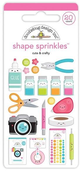 Doodlebug Design - Cute & Crafty Collection  Sprinkles  Cute & Crafty