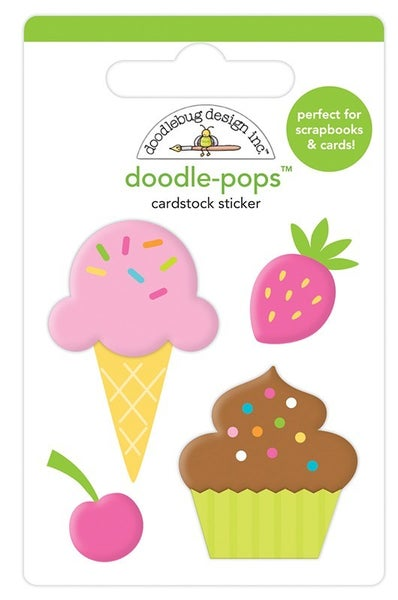 Doodlebug Design Hey Cupcake Doodle-Pops Sweet Treats