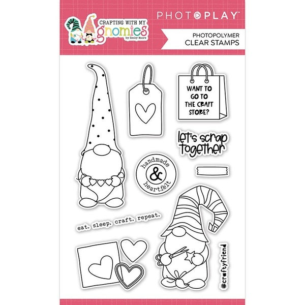 PhotoPlay - Crafting With My Gnomies Clear Stamps