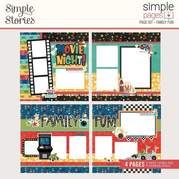 Simple Stories Simple Pages Family Fun Page Kit