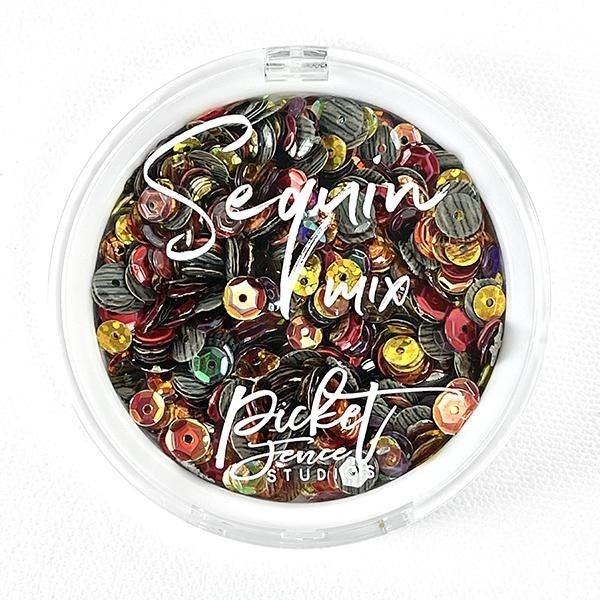 Picket Fence Studios Sequin Mix - Autumn Breeze