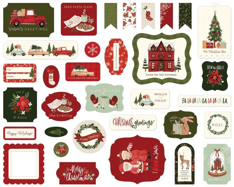 Carta Bella Hello Christmas Ephemera