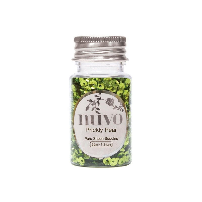 Nuvo  Pure Sheen Sequins  Prickly Pear