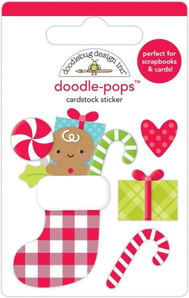 Doodlebug Design  Night Before Christmas  Doodle-Pops - Stocking Stuffers