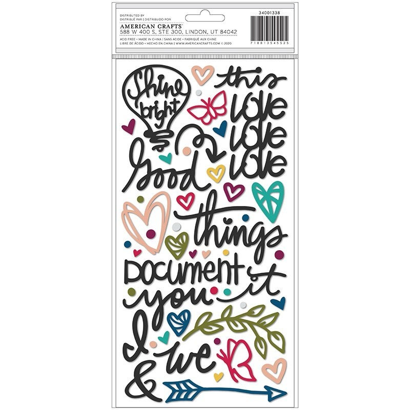 Vicki Boutin Storyteller Thickers Puffy Phrase and Icons 34001338