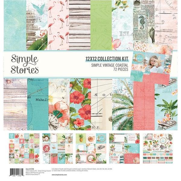 Simple Stories Simple Vintage Coastal 12 x 12 Collection Kit