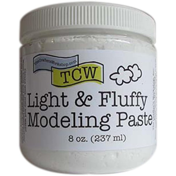 Crafter's Workshop Light And Fluffy Modeling Paste